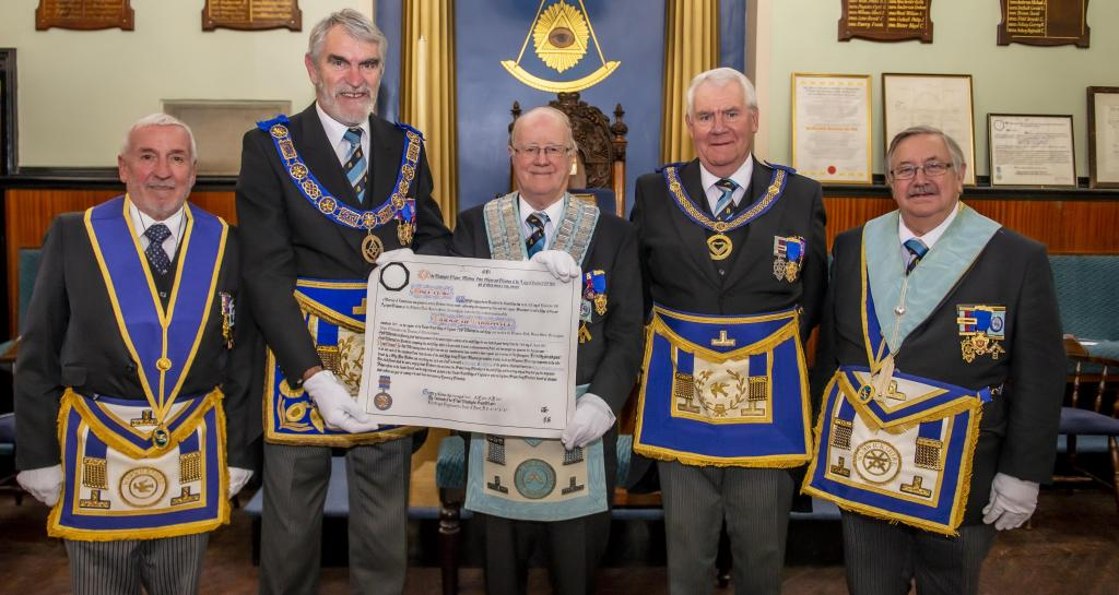 Centenary Warrant presentation